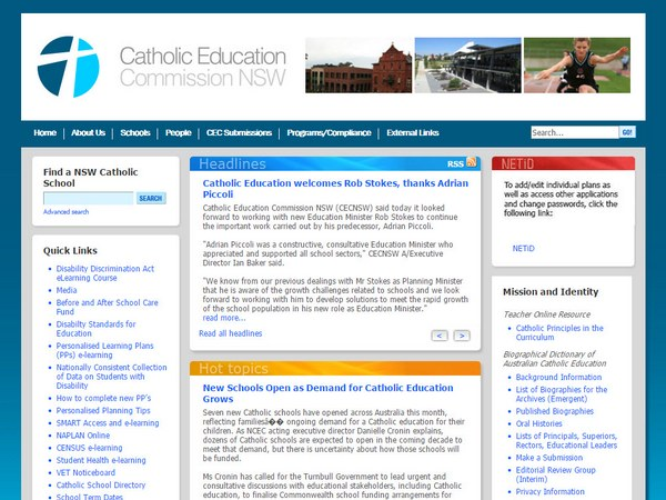 Catholic Education Commission NSW